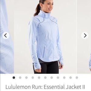 Lululemon run essential jacket II